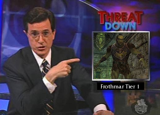 Frothmar Threat Down